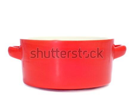 ceramic cooking pan Stock photo © nito