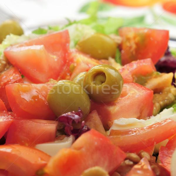 Салат грецкий орех сыр помидор