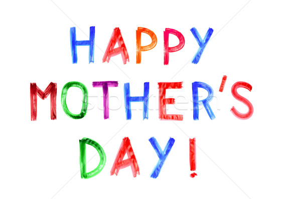 happy mothers day Stock photo © nito