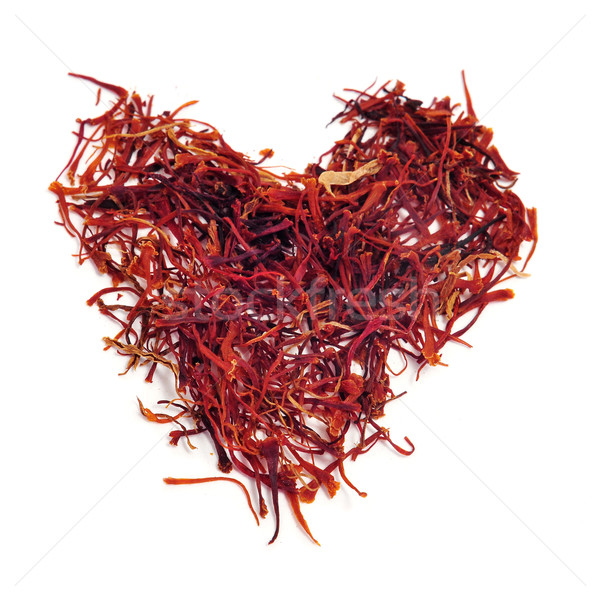 saffron heart Stock photo © nito