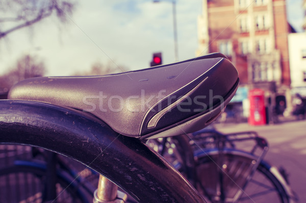 Vélos rack Londres Royaume-Uni rue Photo stock © nito