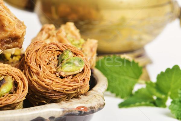 assorted baklava pastries Stock photo © nito