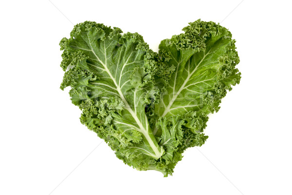 kale leaves forming a heart Stock photo © nito
