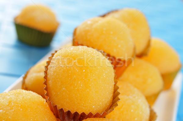 yemas de santa teresa, typical pastries of Spain Stock photo © nito