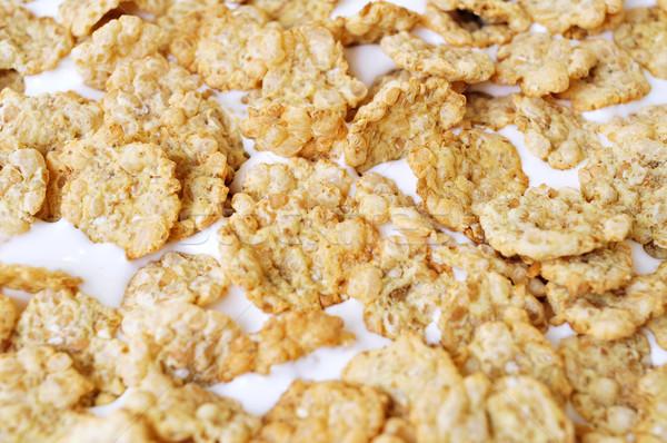 yogurt and oatmeal cereals Stock photo © nito