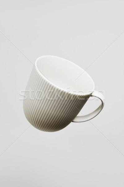 Blanche céramique tasse de café vide Photo stock © nito