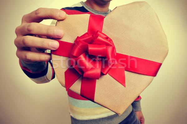 Moço dom festa amor homem Foto stock © nito