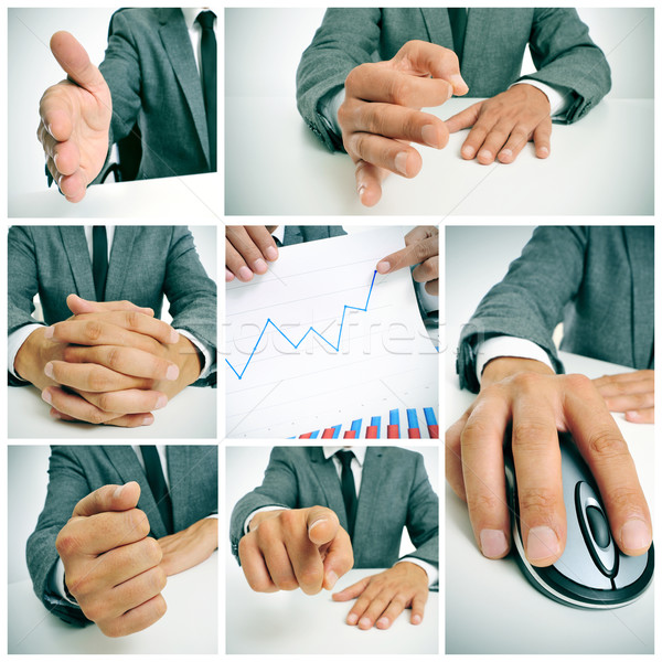 business collage Stock photo © nito