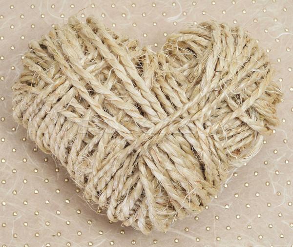 rope heart Stock photo © nito