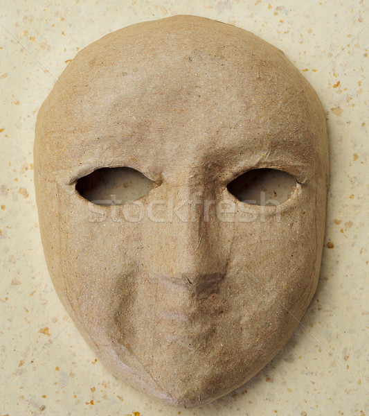 paper-mache mask Stock photo © nito