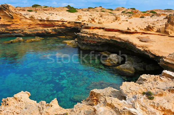Punta de Sa Pedrera in Formentera, Balearic Islands, Spain Stock photo © nito