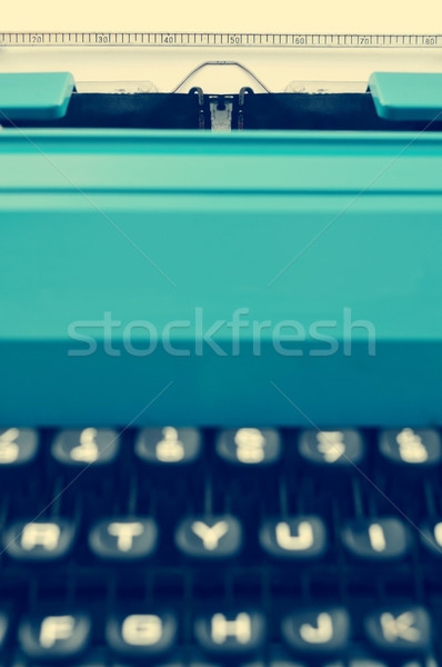 retro typewriter, with a filter effect Stock photo © nito