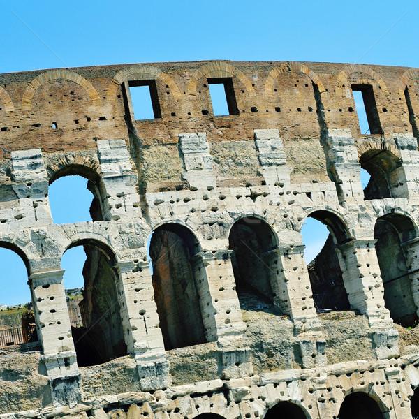 ローマ イタリア 詳細 建物 アーキテクチャ 古代 ストックフォト © nito