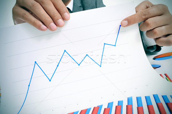 economic growth Stock photo © nito