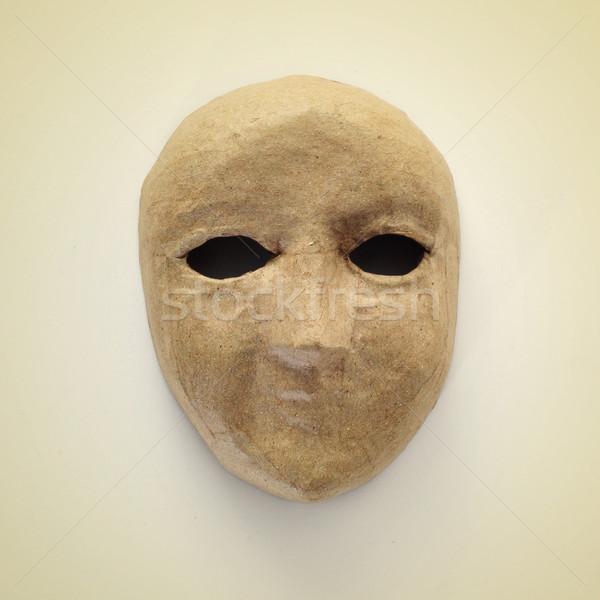 papier-mache mask Stock photo © nito
