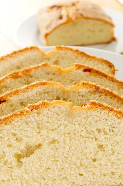 Peças prato café da manhã alimentação Foto stock © nito