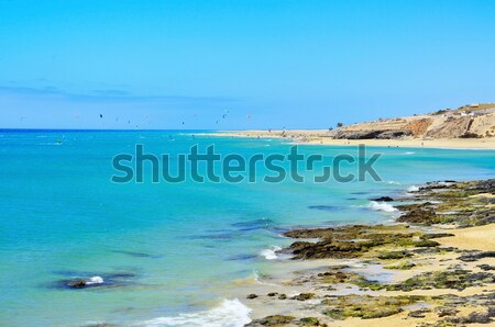 пляж Канарские острова Испания мнение природы морем Сток-фото © nito