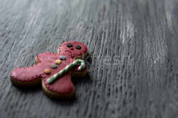 sad gingerbread man Stock photo © nito