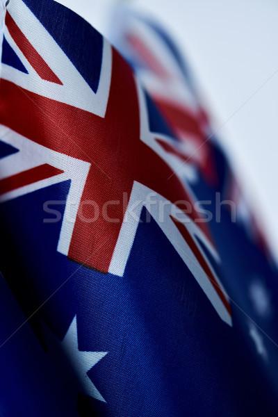 Vlaggen Australië australisch retro effect Stockfoto © nito