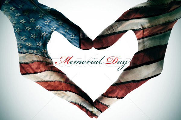 Stock photo: memorial day
