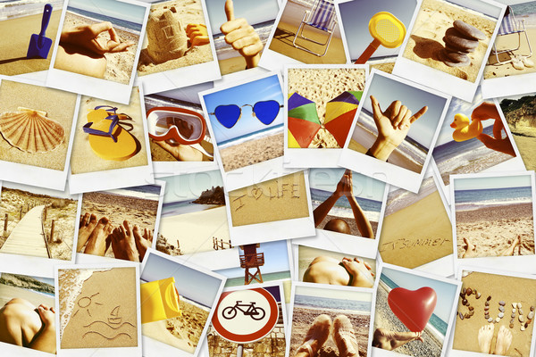 pictures of different summer sceneries shot by myself Stock photo © nito