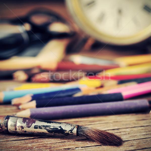 artist studio Stock photo © nito
