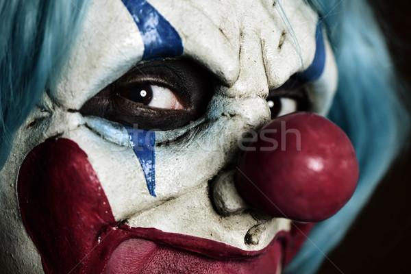 Scary kwaad clown leuk fase Stockfoto © nito
