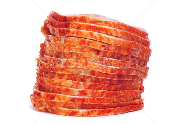 raw marinated tenderloin Stock photo © nito