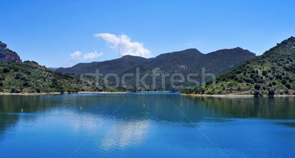 водохранилище Испания мнение воды пейзаж спортивных Сток-фото © nito