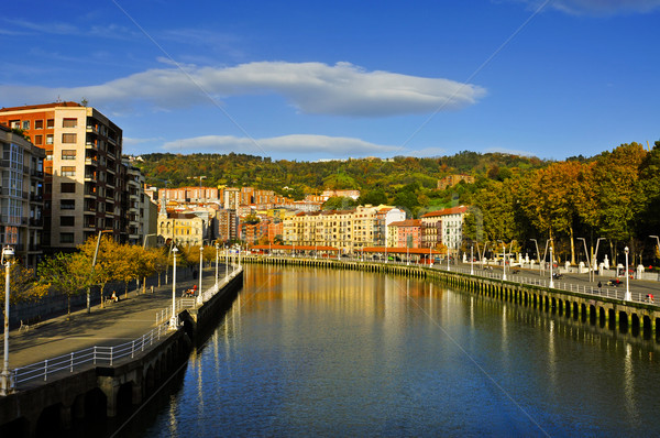 Estuary of Bilbao, in Bilbao, Spain Stock photo © nito