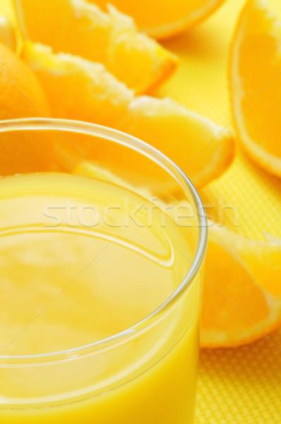 orange juice Stock photo © nito