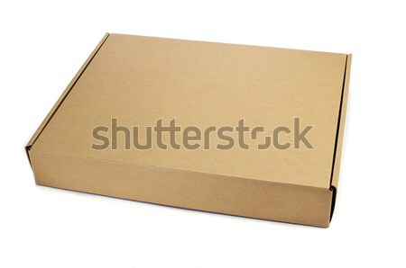 cardboard box Stock photo © nito