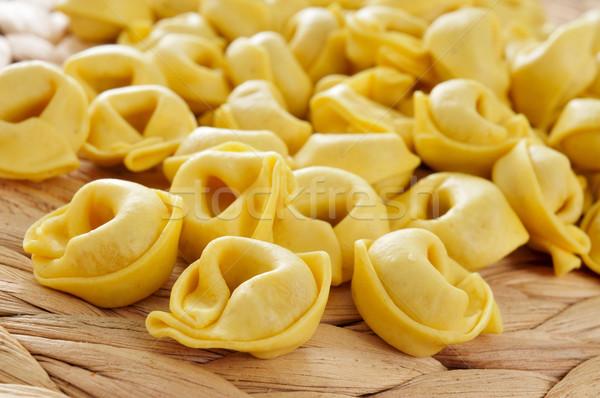 トルテッリーニ クローズアップ 食品 チーズ 野菜 ストックフォト © nito