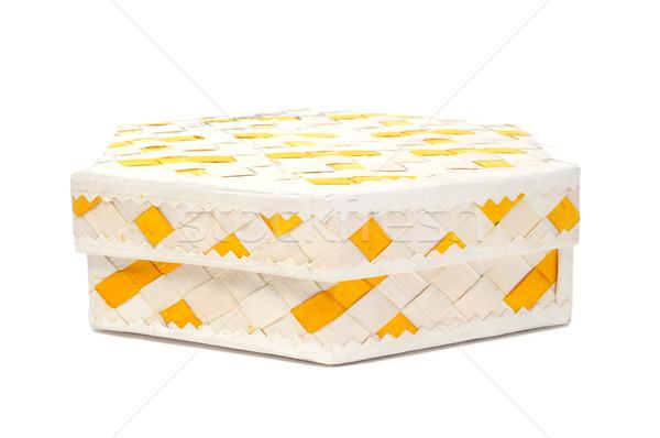 basketwork box Stock photo © nito
