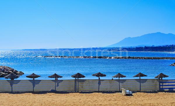 Venus Beach in Marbella, Spain Stock photo © nito
