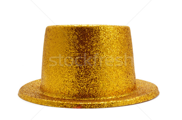 golden top hat Stock photo © nito