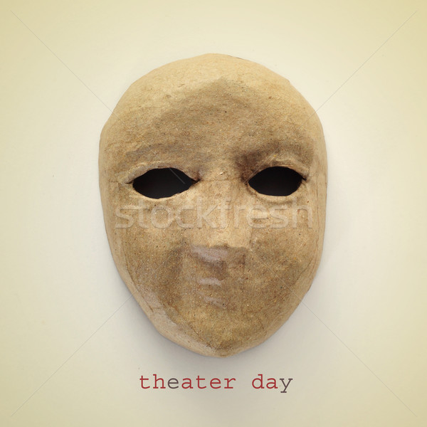 theater day, with a retro effect Stock photo © nito