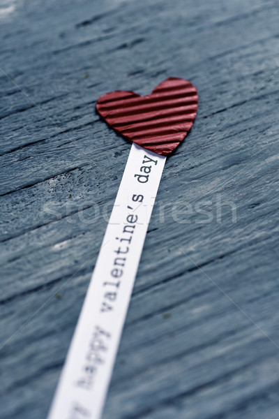 heart and text happy valentines day Stock photo © nito