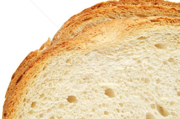 Stock photo: slices of bread