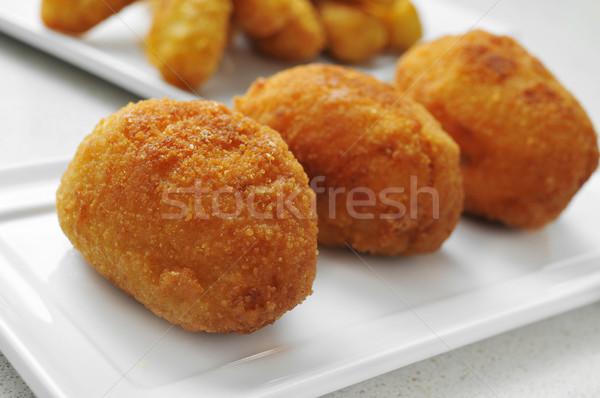 croquetas, spanish croquettes Stock photo © nito