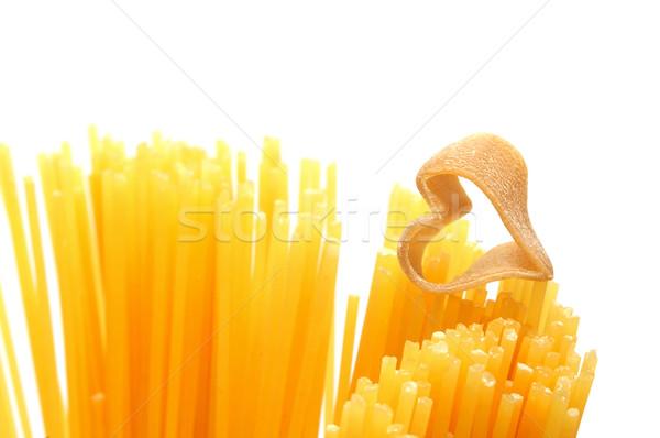 heart shaped pasta Stock photo © nito