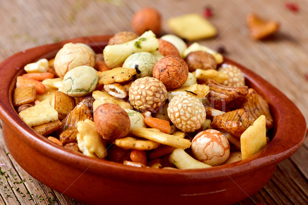 snack mix Stock photo © nito