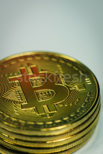 pile of bitcoins Stock photo © nito