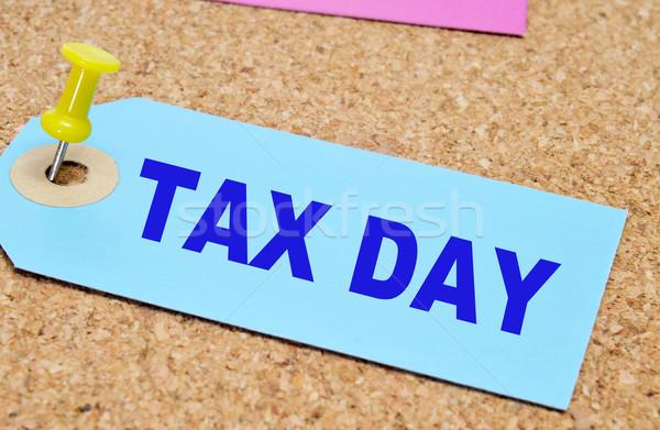 tax day Stock photo © nito