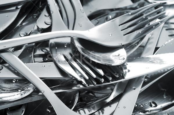 Bestek nat tools dienst Stockfoto © nito