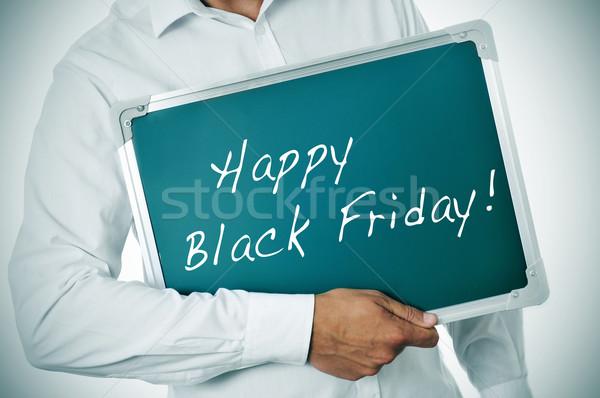 happy black friday Stock photo © nito