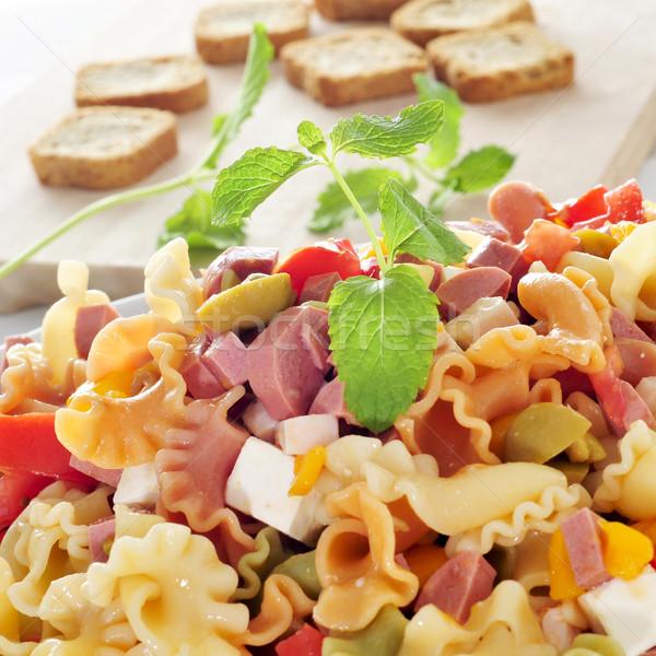 pasta salad Stock photo © nito