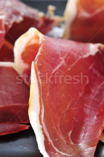 Serrano jambon tapas espagnol Photo stock © nito