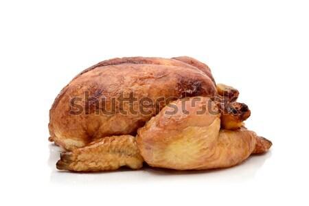 Törökország sült csirke fehér otthon háttér vacsora Stock fotó © nito
