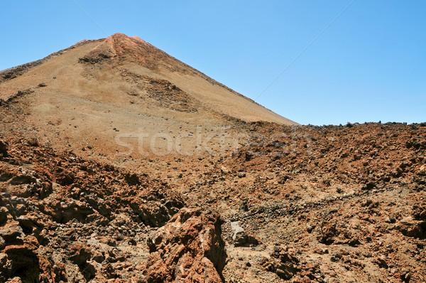Mount Teide, in Teide National Park, Tenerife, Canary Islands, S Stock photo © nito